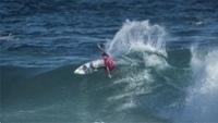 Adriano de Souza, o Mineirinho, na etapa do Rio de Janeiro do Mundial de surfe