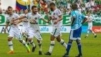 Arthur marcou o segundo gol da Chapecoense