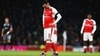 Lucas Perez em ação pelo Arsenal