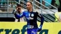 Fernando Prass durante jogo do Palmeiras contra a Ferroviária