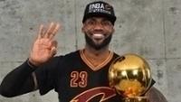 LeBron, três vezes campeão da NBA em sete finais disputadas