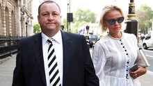 Mike Ashley Linda Ashley Newcastle 07/06/2016