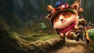 Teemo, o mais famoso dos Yordles de League of Legends