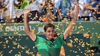 Roger Federer, campeão em Miami