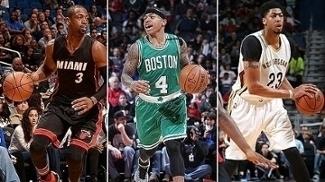 Wade e Bosh brilham e Heat vence o Magic  Celtics e Pelicans também ganham d8a6c0e01efdd