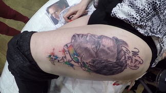 Tatuagem Mourinho