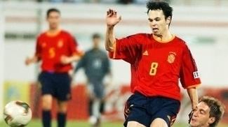 Iniesta Espanha Argentina Mundial Sub-20 28/11/2003