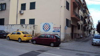 Em todos os cantos da cidade, há referências ao Hajduk