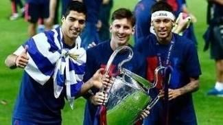 Trio MSN foi decisivo em 2014-15