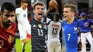 Alemanha x Inglaterra, Espanha, França, Harden em dobro na NBA e a volta da MLB, tudo nos canais ESPN