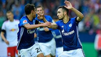 Schalke 04 venceu o RB Leipzig na Veltins Arena