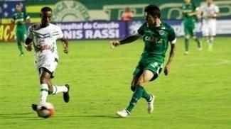 Goiás venceu a primeira no Estadual
