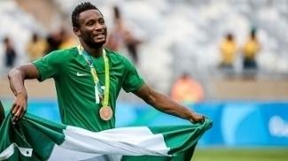 Mikel ganhou a medalha de bronze com a Nigéria nos Jogos Olímpicos de 2016