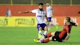 Apesar de clima quente, Allione quer time tranquilo contra o Vitória na Copa do Nordeste