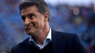 Míchel, técnico do Málaga desde março de 2017