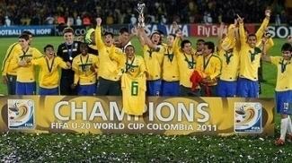 Seleção Brasileira Sub-20 Mundial Colômbia Futebol 2011