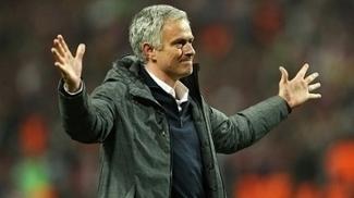 José Mourinho celebra o título da Europa League