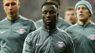 Naby Keita, meio-campista do RB Leipzig
