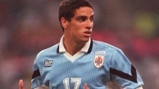 Hernán López, com apenas 19 anos, no Mundial sub-20 de 1997