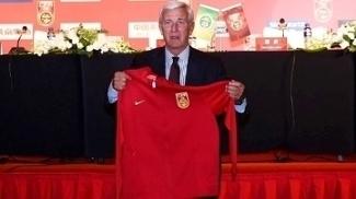 Marcelo Lippi foi apresentado como novo técnico da China nesta sexta-feira