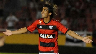 Marcelo Moreno assinalou o gol da vitória flamenguista sobre o São Paulo