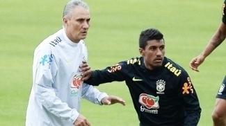 Paulinho Tite Treino Seleção Brasileira 31/08/2016