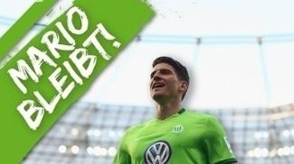 Mario Gomez renovou com o Wolfsburg