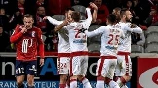 O Bordeaux venceu o Lille por 3 a 2 neste sábado