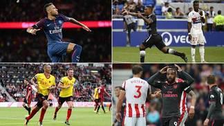Resumo do fim de semana traz o melhor e o pior do futebol internacional