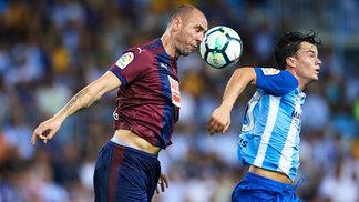 Eibar venceu o Málaga