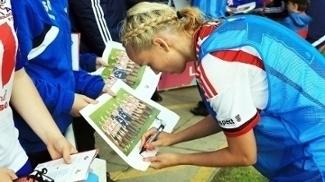 Stephanie Roche Autografos Sunderland Ladies Doncaster Rovers Belles Premier League Feminina 09/07/2016