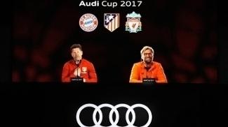 Diego Simeone Jurgen Klopp Coletiva Copa Audi 15/06/2017
