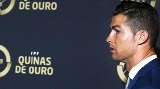 Cristiano Ronaldo Premio Quinas de Ouro Portugal 20/03/2017