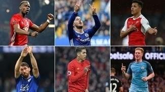 Jornal inglês 'Guardian' elegeu o melhor jogador de cada time na Premier League, com base em suas estatísticas. Veja a lista