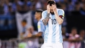 Messi Lamenta Argentina Chile Eliminatorias Copa-2018 28/03/2017