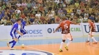 Joaçaba e Atlântico empatam na abertura da Liga Nacional de Futsal da temporada de 2017