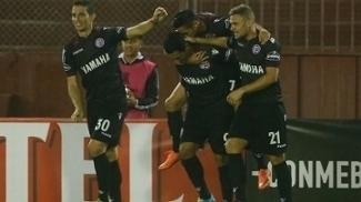 Lanús venceu o Zulia por 5 a 0 em casa