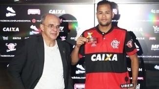 Geuvanio Apresentação Flamengo 21/06/2017