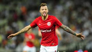 Inter comemora gol diante do Ceará