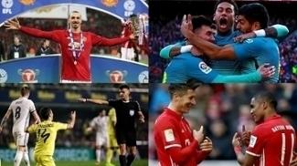 Ibra e United campeões, Bayern destruindo e Espanha em chamas; o resumo do fim de semana