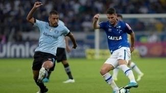 Cruzeiro e Grêmio empataram por 3 a 3, no Mineirão