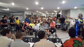 Ciclistas se reúnem por falta de segurança na Baixada Santista