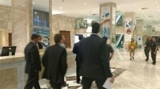 Polícia cumpriu mandato de prisão em hotel no Rio