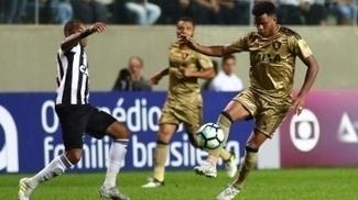 Rithely, durante duelo entre Atlético-MG e Sport