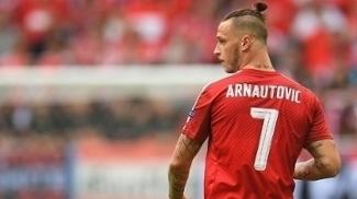 Arnautovic é titular da seleção austríaca