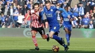 Vardy foi vaiado pelos torcedores do time comandado por Ranieri