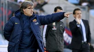 Gerardo Martino orienta o Barcelona na grande vitória de virada sobre o Getafe