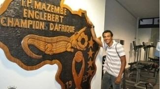 Julio Santos passou três meses no Mazembe