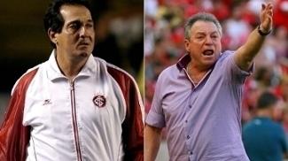 Muricy Ramalho e Abel Braga no comando do Internacional: longevidade