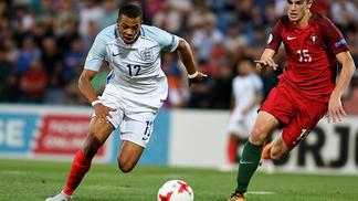 Lukas Nmecha, do Manchester City, anotou o gol da vitória da Inglaterra